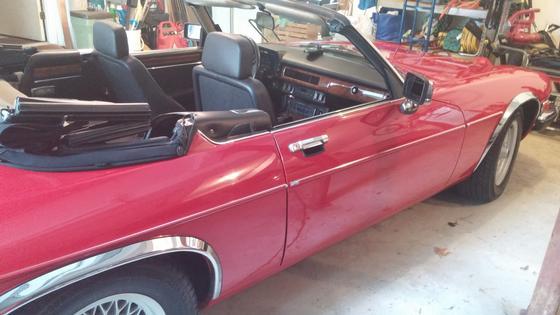 1989 Jaguar XJ-Type S V-12 Convertible